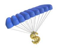 Dólar que va abajo libre illustration