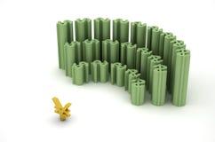 Dólar, rmb e reunião Imagem de Stock Royalty Free