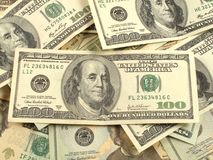 Dólares Foto de Stock Royalty Free