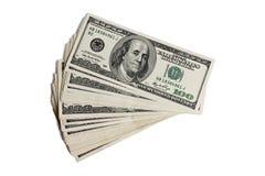 Dólares fotografía de archivo libre de regalías