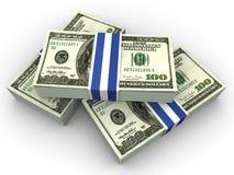 Dólares ilustração stock