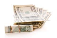 Dólares Fotografia de Stock Royalty Free