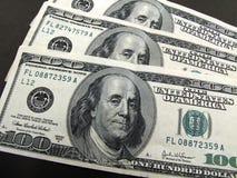 Dólares 3 Foto de Stock