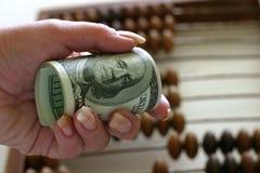 Dólares - 3 Fotos de archivo libres de regalías
