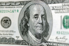 100 dólares Fotografia de Stock Royalty Free