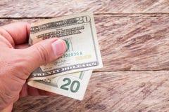 Dólares Imagen de archivo libre de regalías