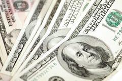 Dólares abstratos do fundo foto de stock