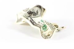 Dólares abstratos do fundo imagens de stock royalty free