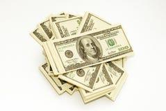 Dólares americanos fotografía de archivo
