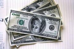 Dólares americanos Imagem de Stock Royalty Free