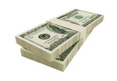 Dólares americanos Fotografia de Stock Royalty Free