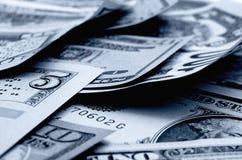 Dólares americanos do dinheiro Fotografia de Stock