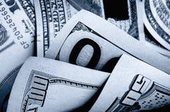 Dólares americanos do dinheiro Fotografia de Stock Royalty Free