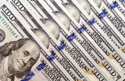 Dólares americanos, primer Imágenes de archivo libres de regalías