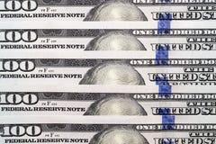 Dólares americanos, primer Foto de archivo libre de regalías