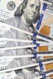 Dólares americanos, primer Fotografía de archivo libre de regalías