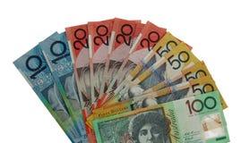Dólares australianos Foto de archivo