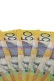 Dólares australianos. Imagens de Stock