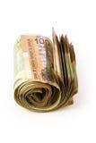 Dólares canadianos Imagens de Stock