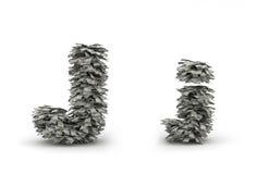 Dólares da letra J Ilustração do Vetor