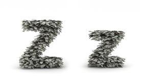 Dólares da letra Z Ilustração Royalty Free