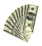 Dólares da pilha Fotos de Stock