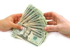 Dólares da transação