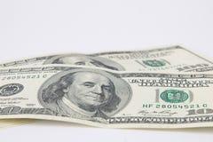 Dólares das notas de banco Imagem de Stock