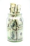 Dólares de banco Fotos de archivo libres de regalías
