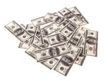 100 dólares de billetes de banco i Fotos de archivo libres de regalías