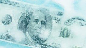 100 dólares de derretimiento congelado almacen de video