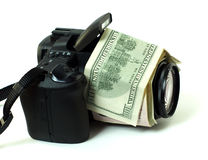 DÓLARES DE DIGI foto de stock royalty free
