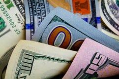 Dólares de EE. UU. del efectivo Foto de archivo