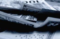 Dólares de EE. UU. del efectivo Foto de archivo libre de regalías