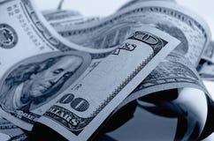 Dólares de EE. UU. del efectivo Fotos de archivo libres de regalías