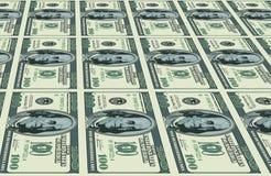 Dólares de fondo ilustración del vector