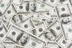 Dólares de fondo Fotos de archivo libres de regalías