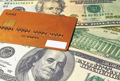 Dólares de fondo Fotografía de archivo libre de regalías