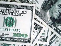Dólares de fondo imagen de archivo libre de regalías