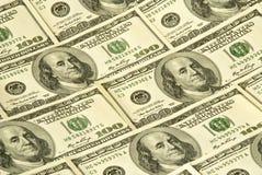 Dólares de fondo Foto de archivo libre de regalías