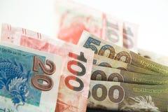 Dólares de Hong Kong, Hong Kong Money, Hong Kong Bank Note fotos de archivo