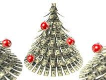 Dólares de la Navidad Imagenes de archivo