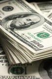 Dólares de primer de la pila imagen de archivo libre de regalías