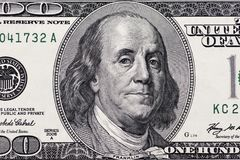 Dólares de primer Imagen altamente detallada del dinero americano fotos de archivo libres de regalías