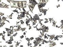 Dólares de queda ilustração do vetor