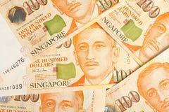 Dólares de Singapur Imágenes de archivo libres de regalías