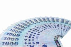 1000 dólares de Taiwan novos Imagem de Stock Royalty Free