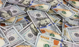 Dólares del fondo Foto de archivo