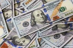 Dólares del fondo Fotos de archivo