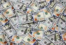 Dólares del fondo Imagenes de archivo